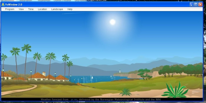 YoWindow Seaside Desktop.JPG