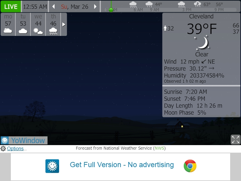 YoWindow Weather Plugin screenshot showing Humidity Percentage error 03-26-17.jpg